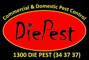 DiePest Logo on black